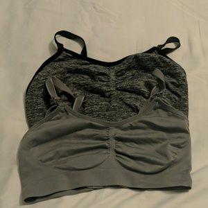 Set of Lg motherhood maternity nursing bras
